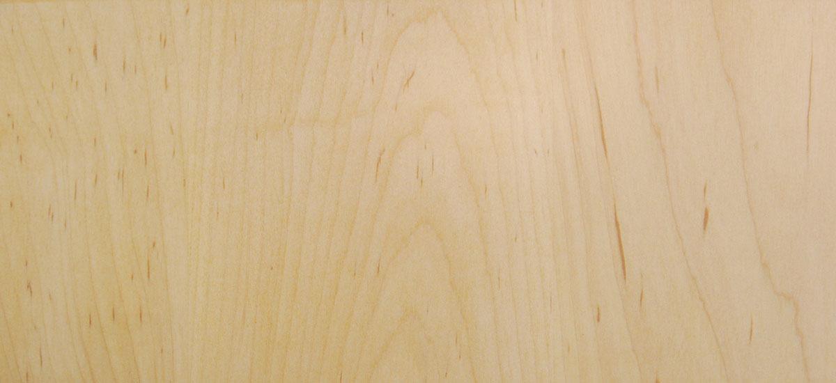 Custom furniture made in America - Clear Maple